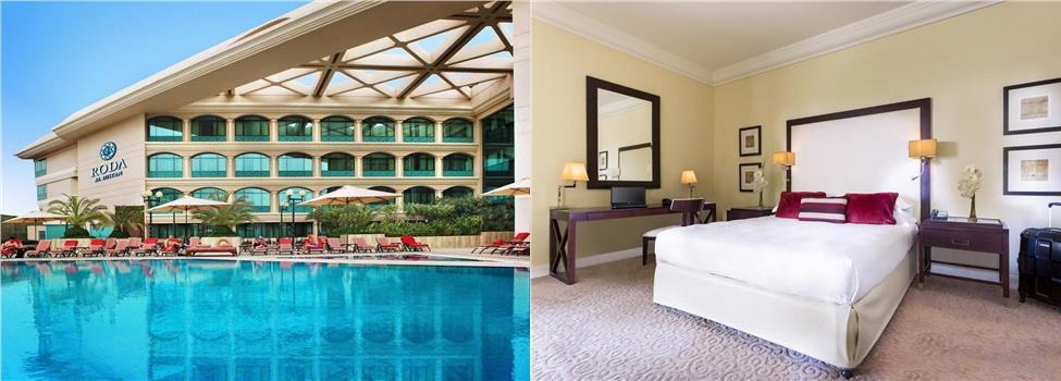 Roda Al Bustan Airport Hotel, Deira, Dubai, Förenade Arabemiraten