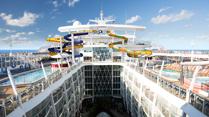 Västra Karibien- Världens största fartyg