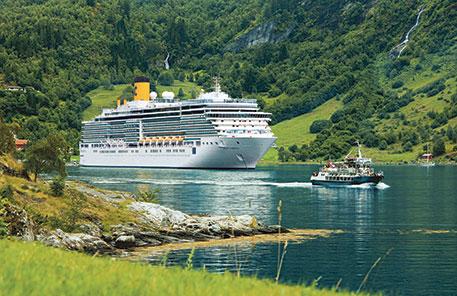 Kryssningar  Costa Norska fjordarna