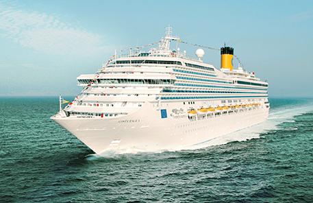 Kryssningar  Costa Medelhavet
