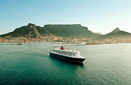 Jorden Runt med Cunard 2018