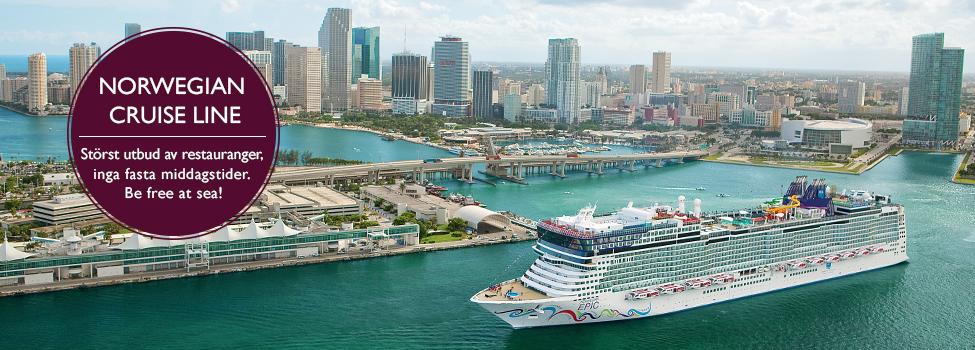 Kryssningar Norwegian Cruise Line